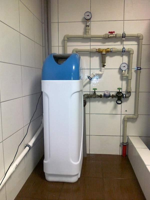 Zamówienie Zmiękczacz do wody - montaż