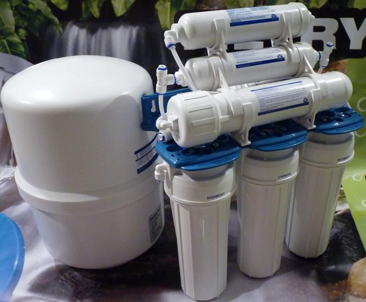 Zamówienie Dezynfekcja osmotycznego filtra do wody