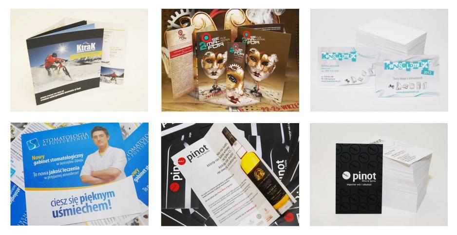 Zamówienie Materiały promocyjne - wydruki