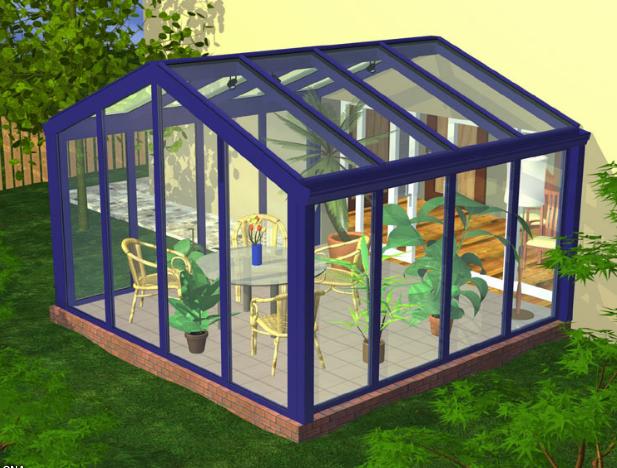 Zamówienie Konstrukcja ogrodu zimowego w Amsterdamie