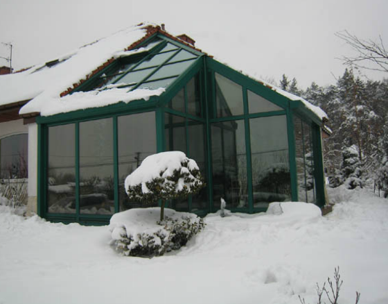 Zamówienie Ogród zimowy - Polska