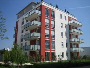 Zamówienie Trzy budynki apartamentowe w Monachium przy ul. Leopoldstrasse 250 ( Niemcy )