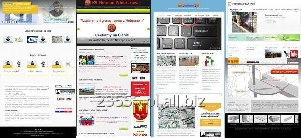 Zamówienie Profesjonalne strony internetowe dla Ciebie i Twojej firmy.