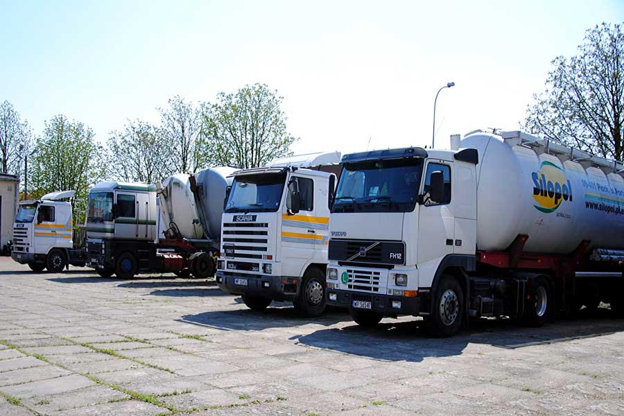Zamówienie Międzynarodowy transport ładunków.