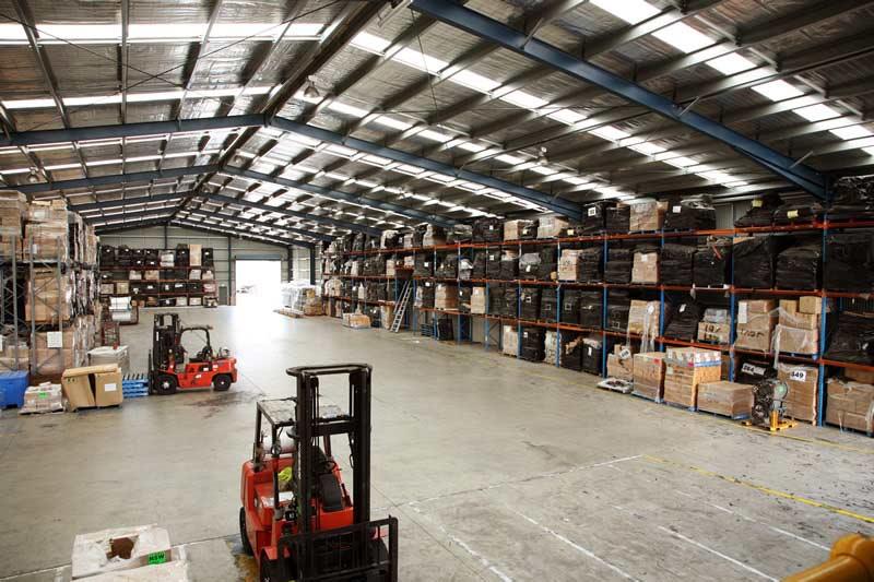 Zamówienie Usługi przechowywania, magazynowania produktów.