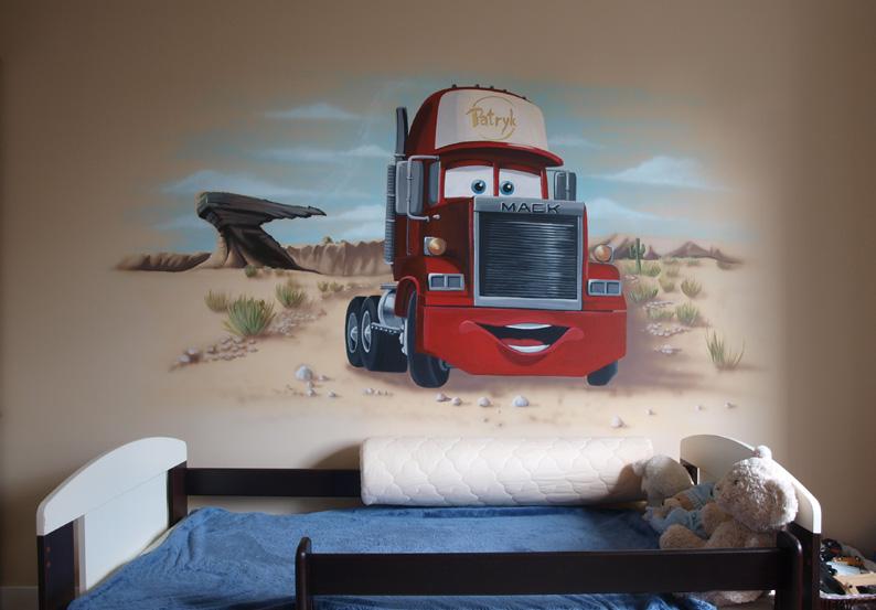 Zamówienie Artystyczne malowanie wnętrz, murale