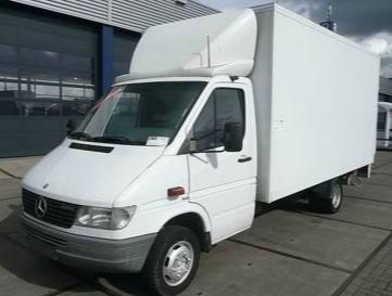 Zamówienie Mercedes benz 412D transport wędlin
