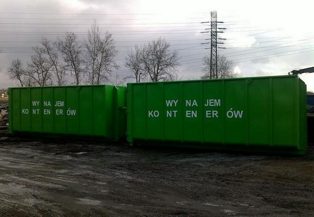 """Zamówienie Wynajem kontenerów """"hakowych"""" 34 - 40m3"""