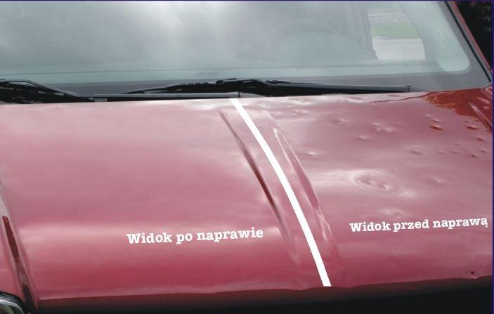 Zamówienie Usuwanie szkód parkingowych. Naprawa karoserii.