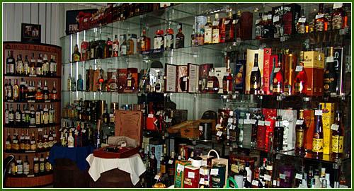 Zamówienie Eksport alkoholi
