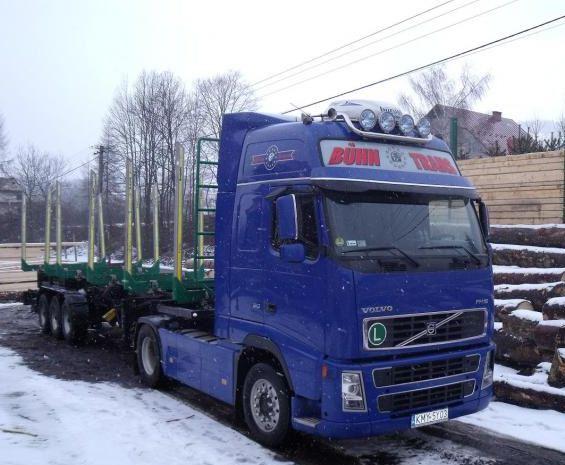 Zamówienie Transport drewna Trans-Trak