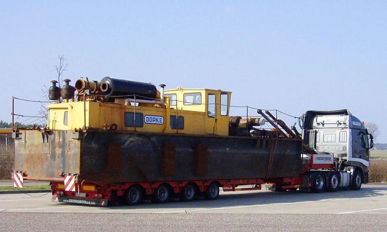 Zamówienie Usługi transportowe - Transport ponadgabarytowy i ciężki