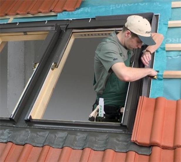 Zamówienie Montaż okien dachowych
