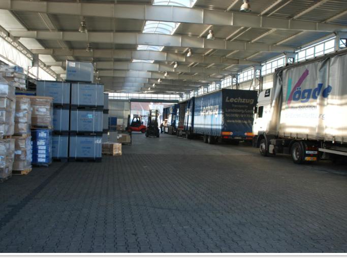 Zamówienie Magazyny logistyczne
