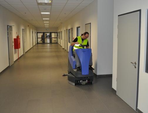 Zamówienie Sprzątanie biur i biurowców