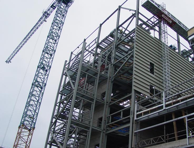 Zamówienie Produkcja konstrukcji metalowych