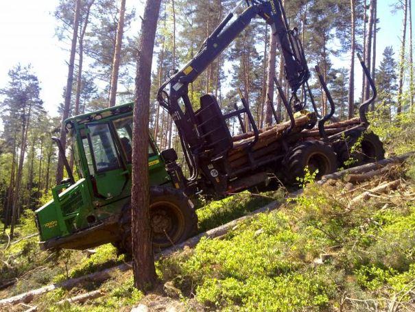 Zamówienie Prace na terenach leśnych