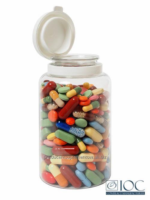 Zamówienie Produkcja suplementów diety
