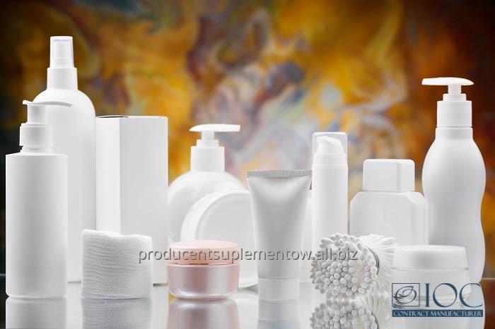 Zamówienie Produkujemy wszelkie kosmetyki, kosmetyki Private Label