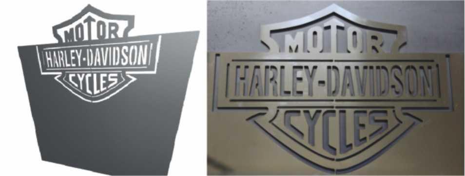 Zamówienie Wycinanie laserem stali