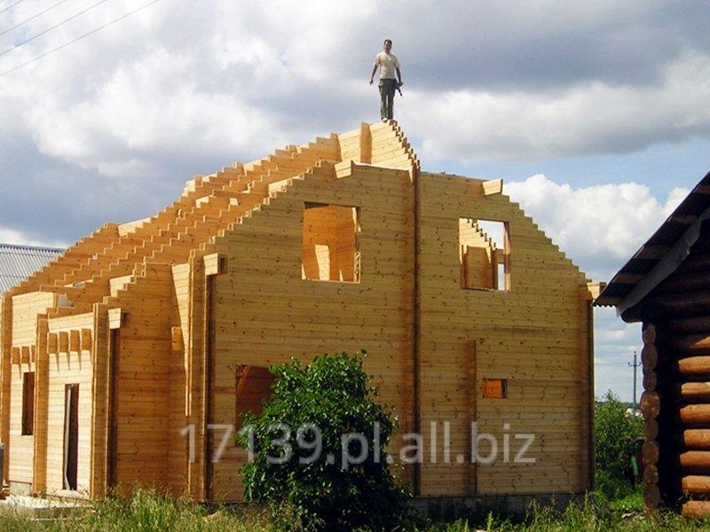 Budowa domów z bala okragłego, kwadratowego i konstrukcyjnego (typu sandwich).