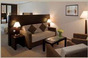 Zamówienie Pokoje hotelowe: apartamenty z 2 sypialniami