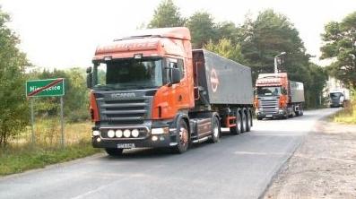 Zamówienie Transport samochodowy samochodami budowlanymi