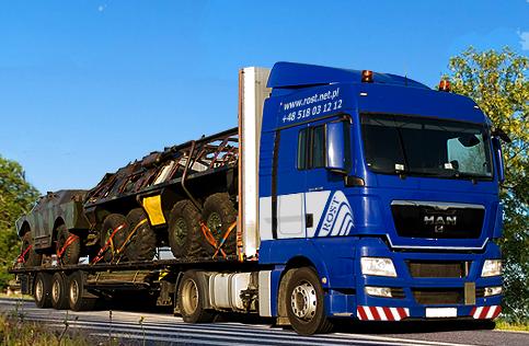 Zamówienie Transport maszyn rolniczych