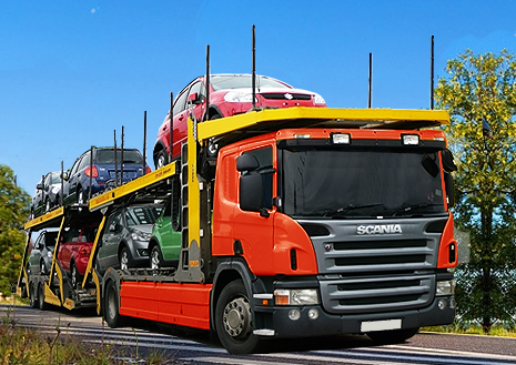 Zamówienie Transport samochodów