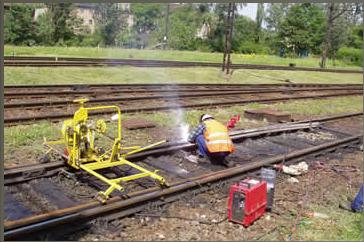 Zamówienie Regeneracja stalowej nawierzchni kolejowej