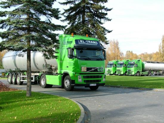 Zamówienie Transport substancji ciekłych
