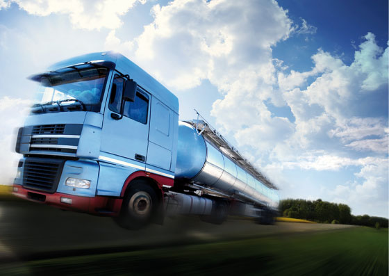 Zamówienie Transport produktów naftowych