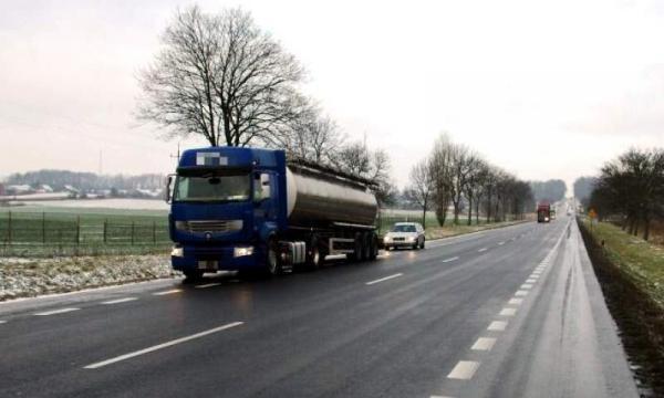 Zamówienie Transport produkcji chemicznej
