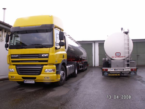 Zamówienie Transport towarów niebezpiecznych