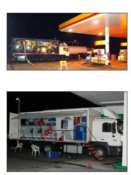 Zamówienie Czyszczenie zbiorników paliwowych