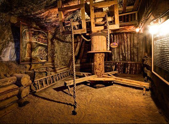 Zamówienie Zwiedzanie wystaw -kopalnia soli