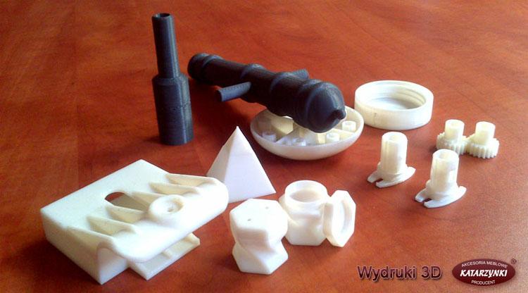 Zamówienie Wydruki prototypów 3D