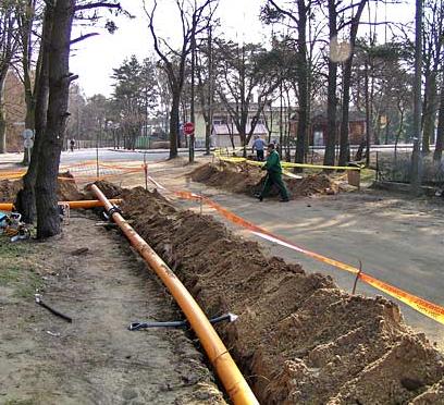 Zamówienie Usługi gazowe