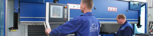 Zamówienie Gięcie blach w technologii CNC