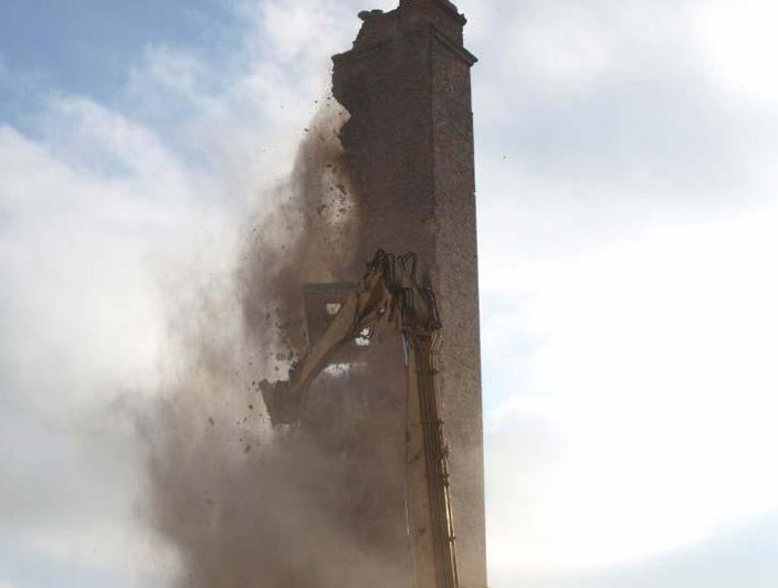 Zamówienie Burzenie budowli