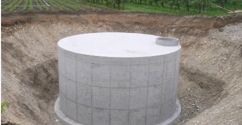 Zamówienie Budowa zbiorników żelbetowych