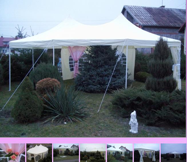 Zamówienie Wynajem namiotów ślubnych