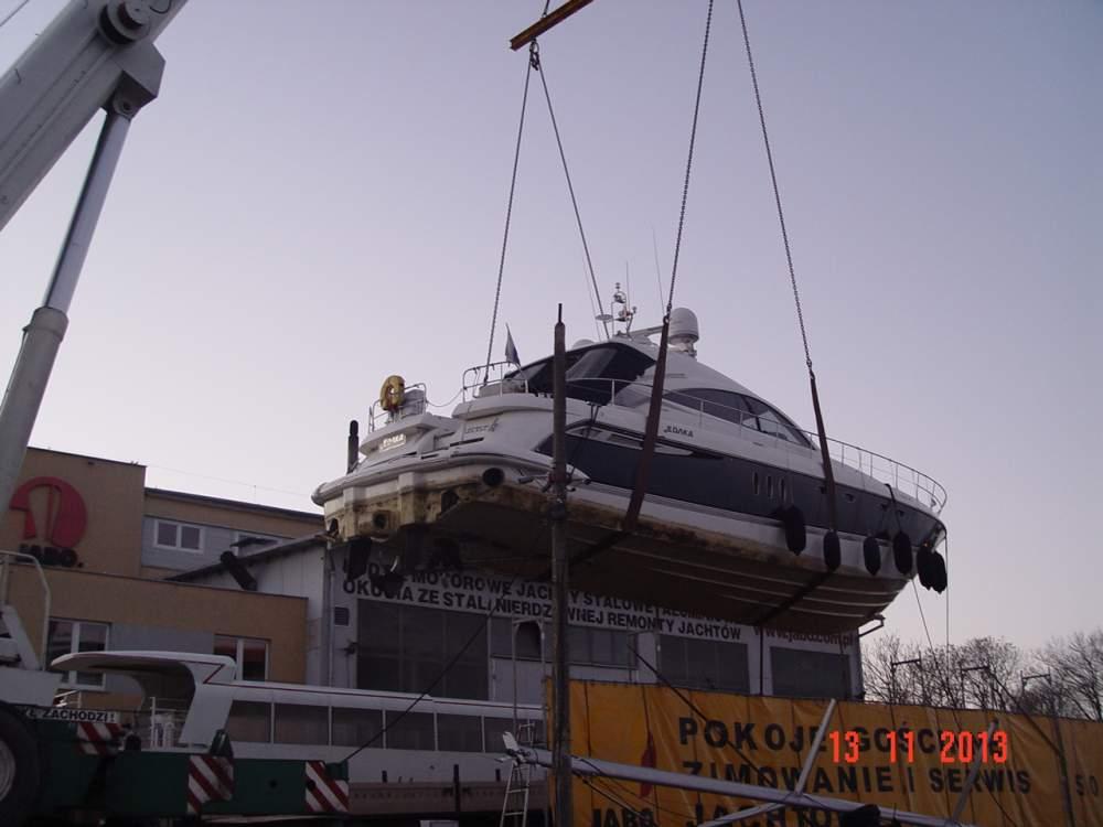 Zamówienie Zimowanie jachtów i łodzi