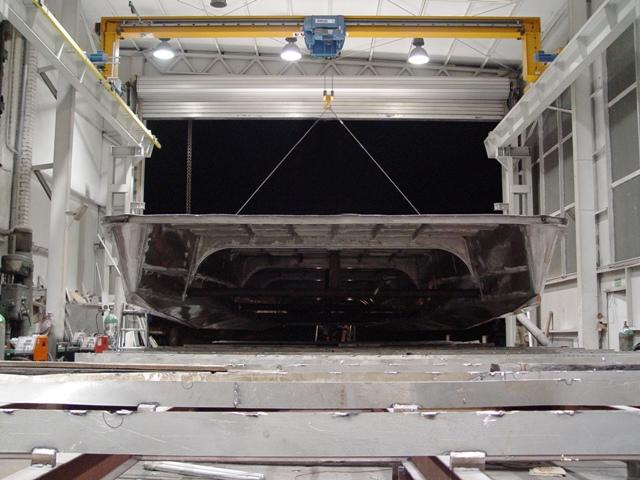 Zamówienie Budowa kadłub aluminiowy