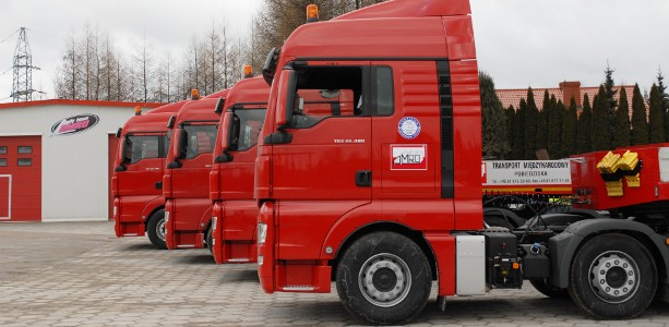 Zamówienie Projektowanie tras transportowych
