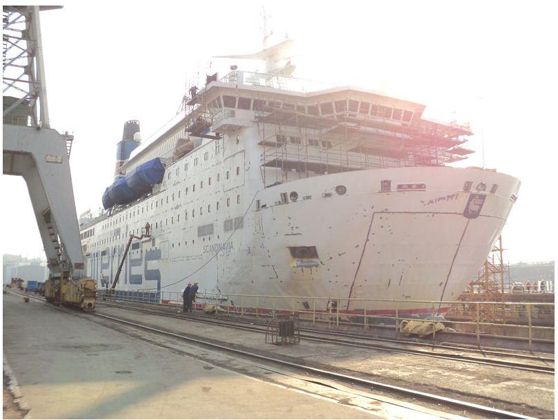 Zamówienie Remontowanie statków