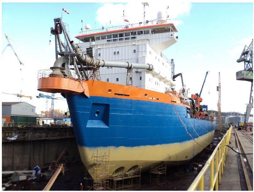 Zamówienie Remont statków w suchym doku