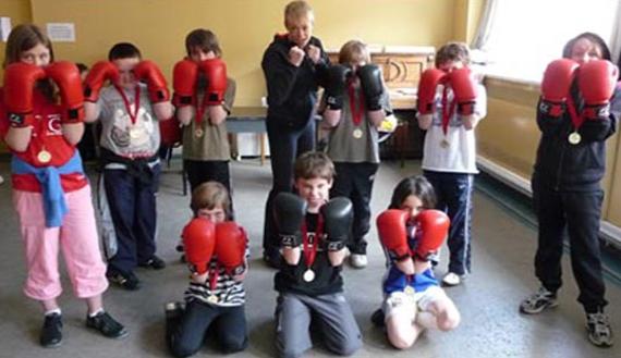 Zamówienie Trenowanie boksu dla dzieci