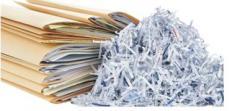 Niszczenie dokumentów.