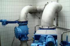 Usług zapewniających sprawne działanie urządzeń podczyszczających ścieki